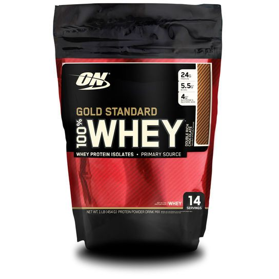 100% WHEY PROTEIN (1LB) - 454G - OPTIMUM NUTRITION