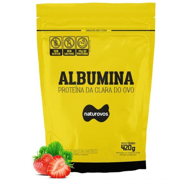 ALBUMINA - 500g - REFIL - NATUROVOS