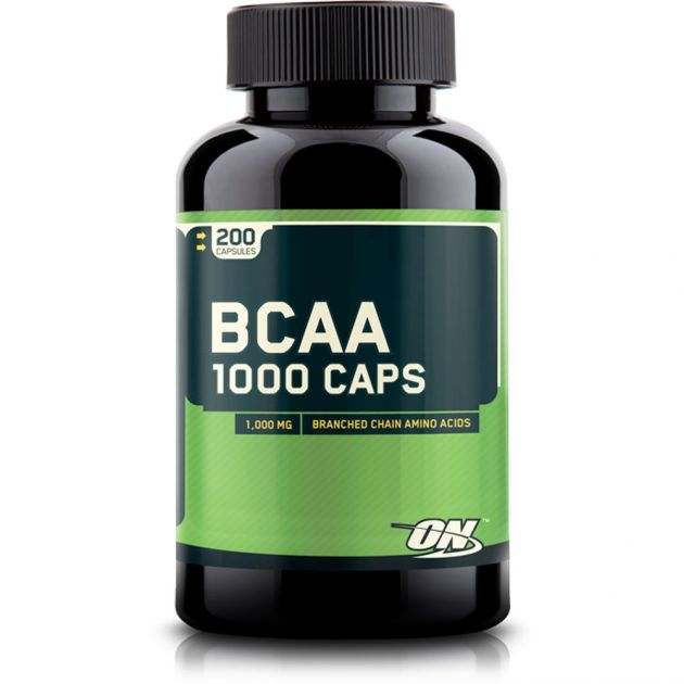 BCAA 1000 - 200 CAPS - OPTIMUM NUTRITION