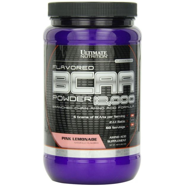 BCAA 12000 POWDER - 457G - ULTIMATE NUTRITION