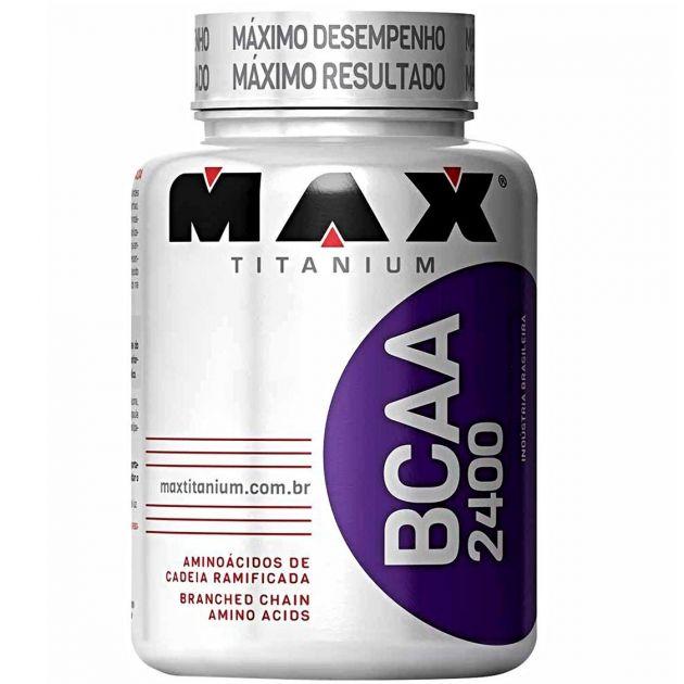 BCAA 2400 - 60 CAPS - MAX TITANIUM