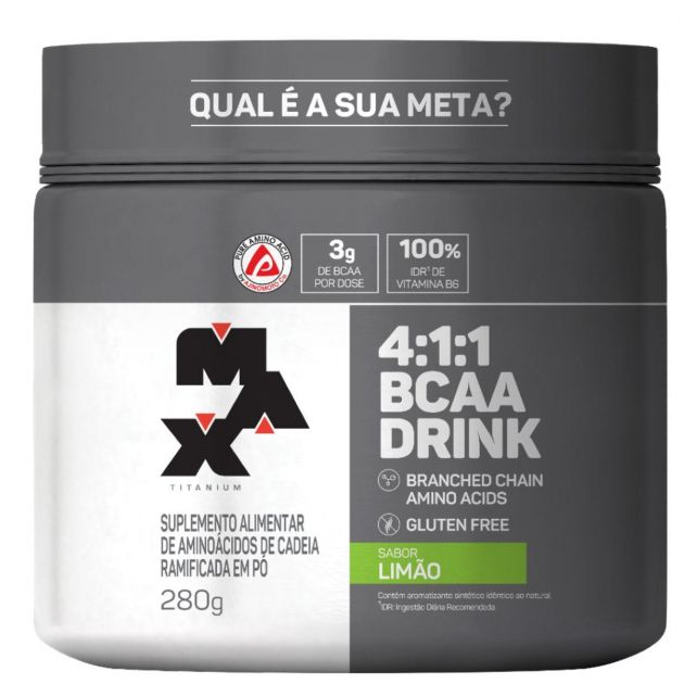BCAA 4:1:1 DRINK - 280g - MAX TITANIUM