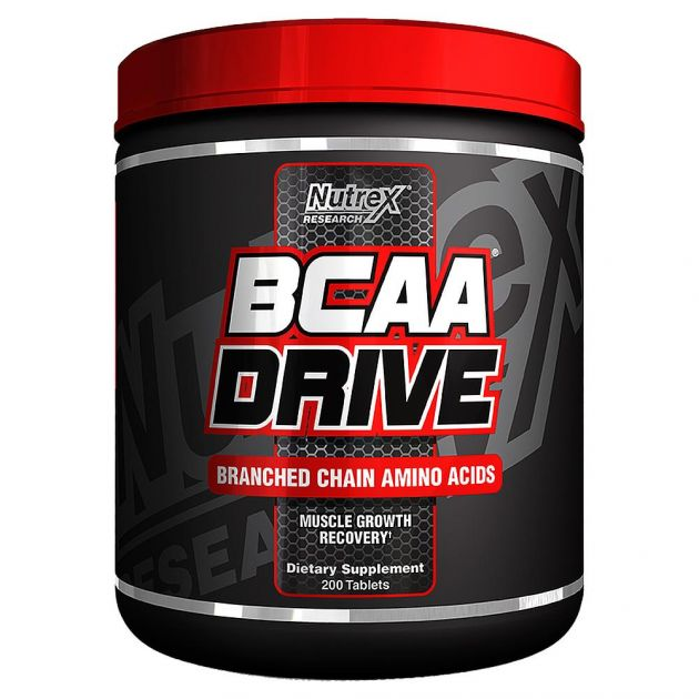 BCAA DRIVE BLACK - 200 TABS - NUTREX RESEARCH