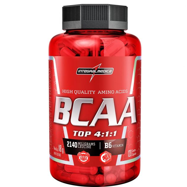 BCAA TOP 4:1:1 - 240 CAPS - INTEGRALMÉDICA