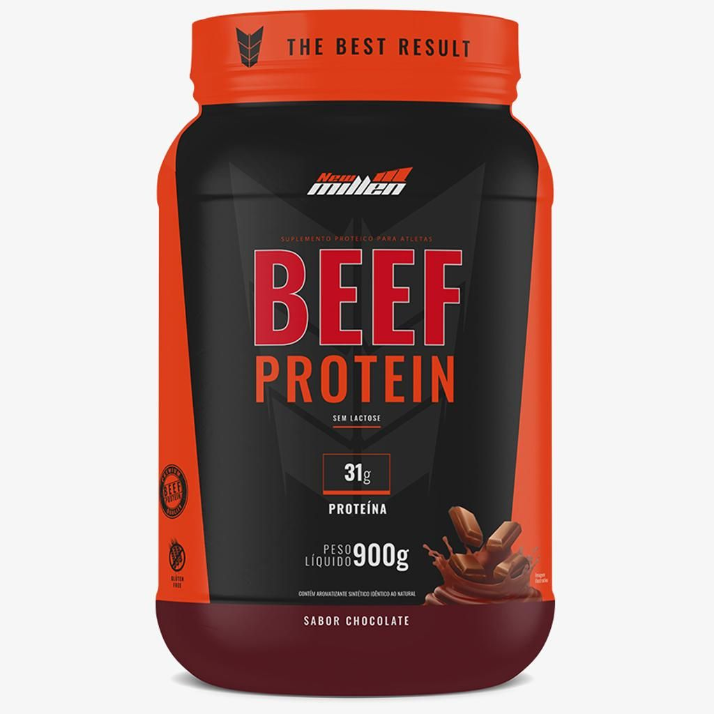 24835024b BEEF PROTEIN ISOLATE - 900g - NEW MILLEN na Nutri Fast Shop