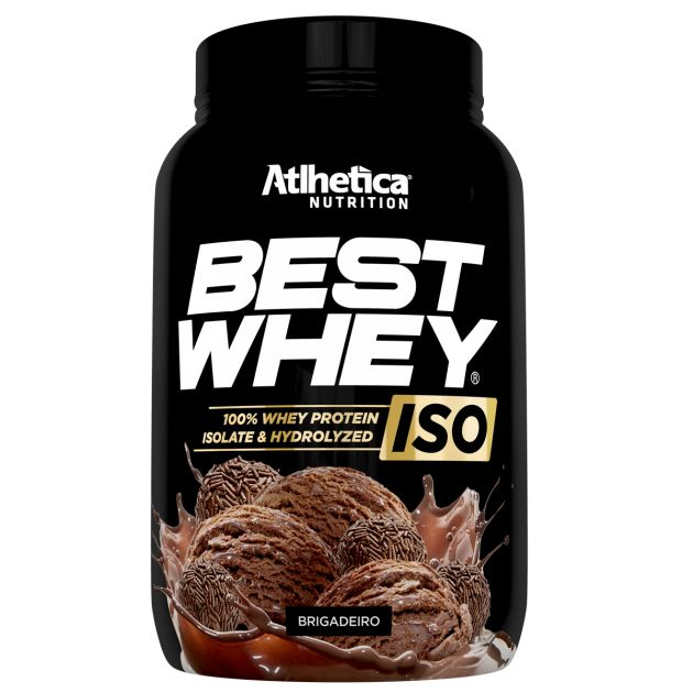 BEST WHEY ISO - 900g - ATLHETICA NUTRITION