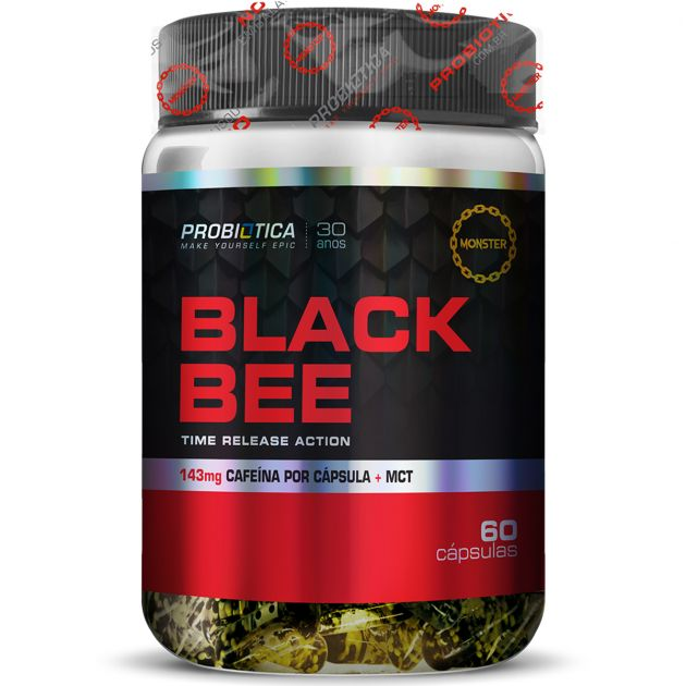 BLACK BEE - 60 CAPS - PROBIÓTICA