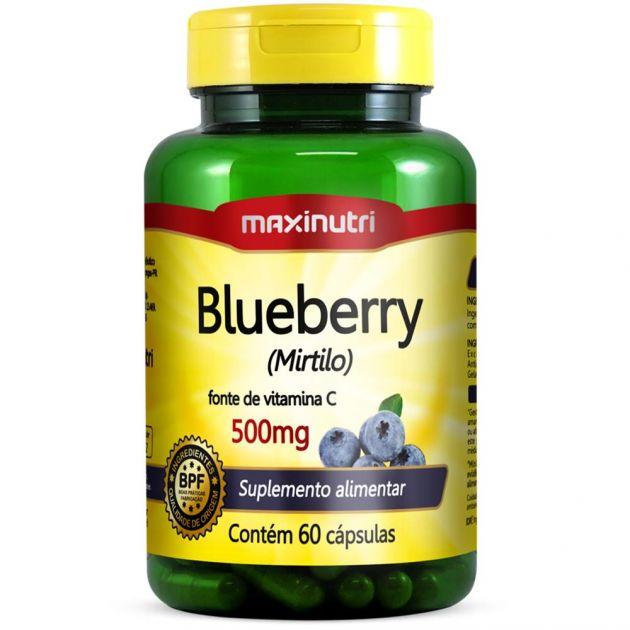 BLUEBERRY (MIRTILO) - 60 CAPS - MAXINUTRI