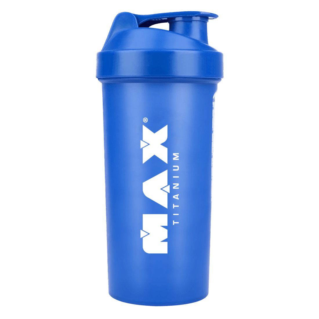COQUETELEIRA AZUL - 600ml - MAX TITANIUM na Nutri Fast Shop 93e9acf30a2f8