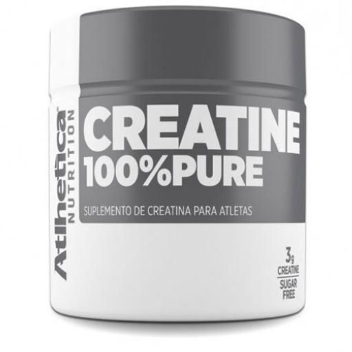 CREATINA 100% PURE - 300g - ATLHETICA NUTRITION