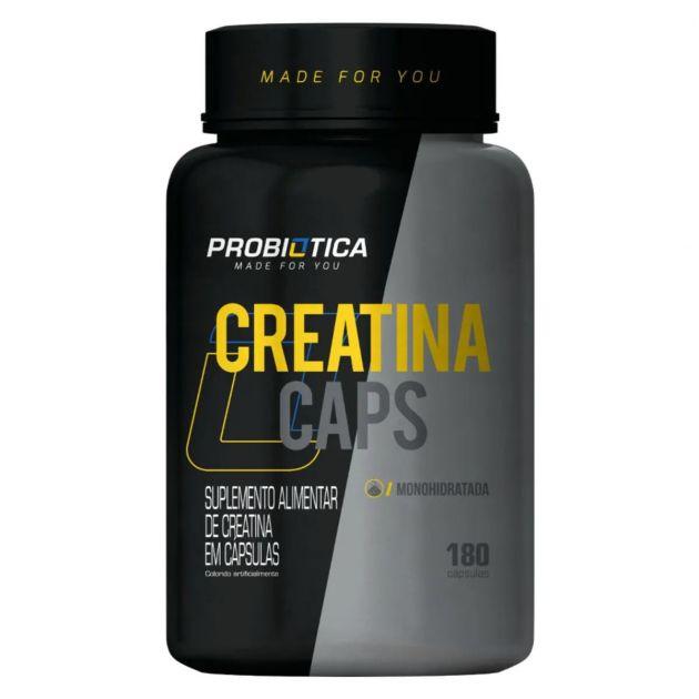 CREATINA CAPS - 180 CAPS - PROBIÓTICA