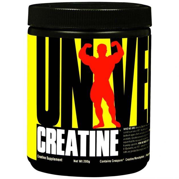 CREATINE POWDER - 200g - UNIVERSAL NUTRITION