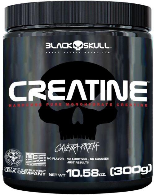 CREATINE CAVEIRA PRETA - 300g - BLACK SKULL