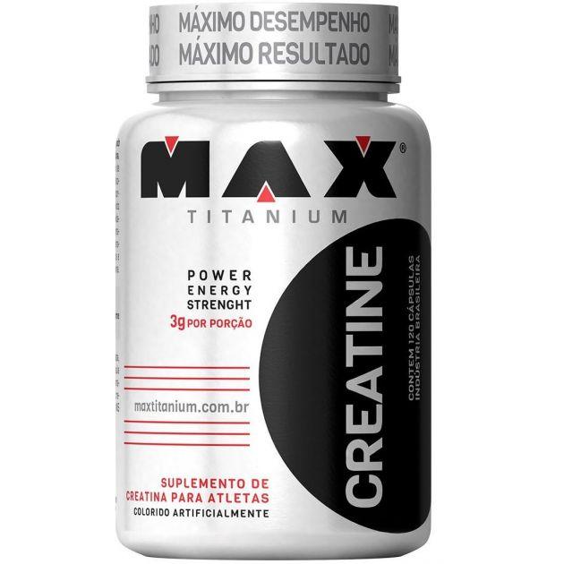 CREATINA - 120 CAPS - MAX TITANIUM