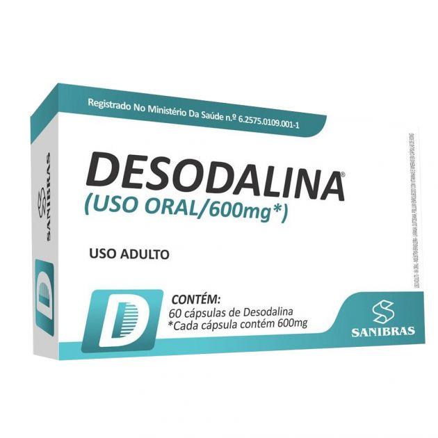 DESODALINA - 60 CAPS - SANIBRAS