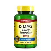 DIMAG DI-MALATO DE MAGNÉSIO - 60 CAPS - MAXINUTRI