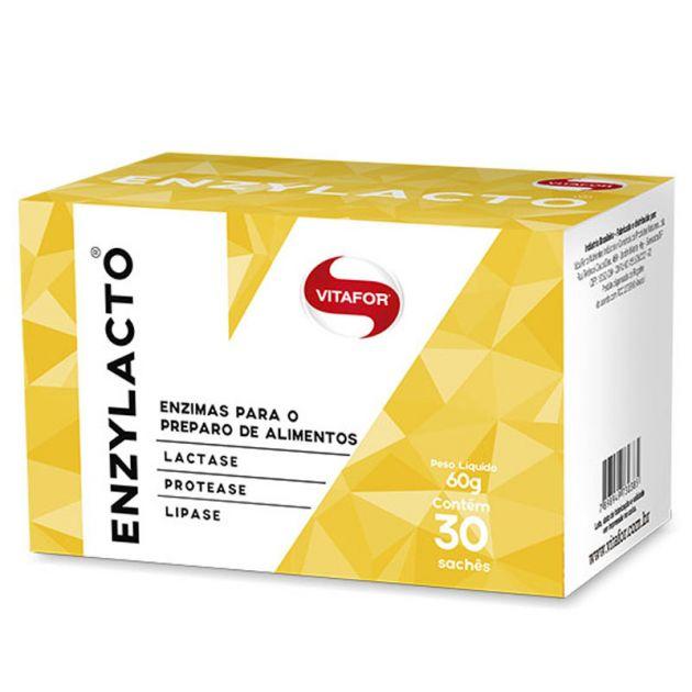 ENZYLACTO - 30 SACHÊS - VITAFOR (vencimento maio/2018)
