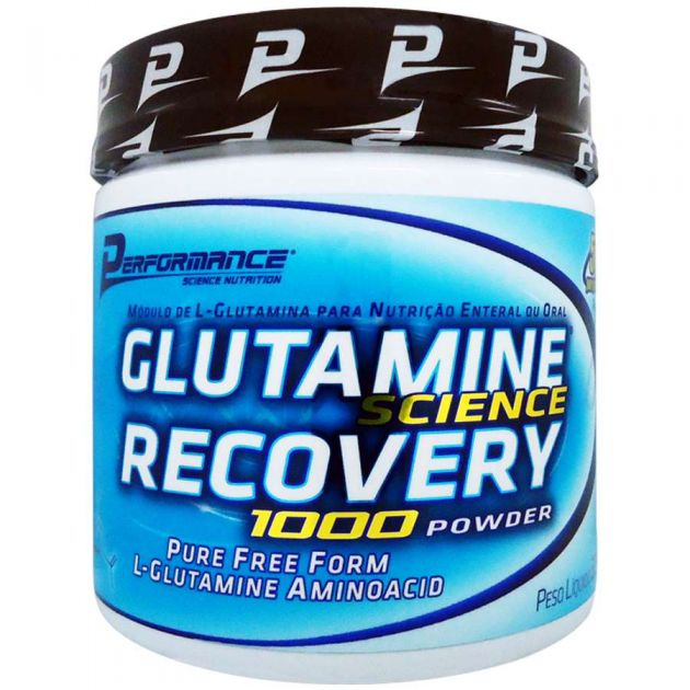 GLUTAMINE 1000 POWDER - 300g - PERFORMANCE NUTRITION
