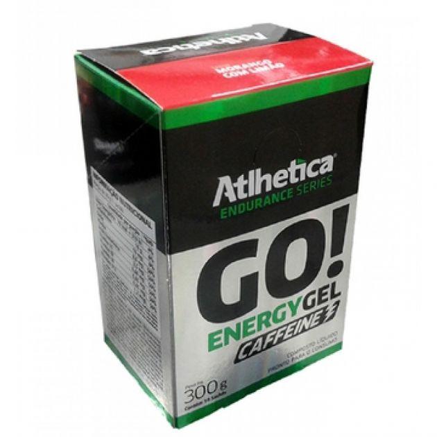 GO ENERGY GEL CAFFEINE - 10 SACHÊS - ATLHETICA