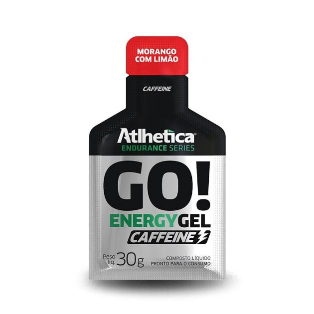 GO ENERGY GEL CAFFEINE - SACHÊ - 30g - ATLHETICA NUTRITION