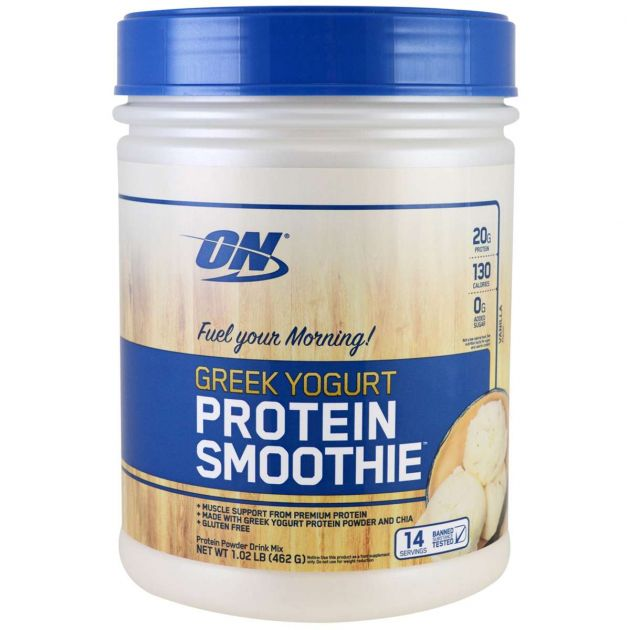 GREEK YOGURT PROTEIN SMOOTHIE - 462g - OPTIMUM NUTRITION