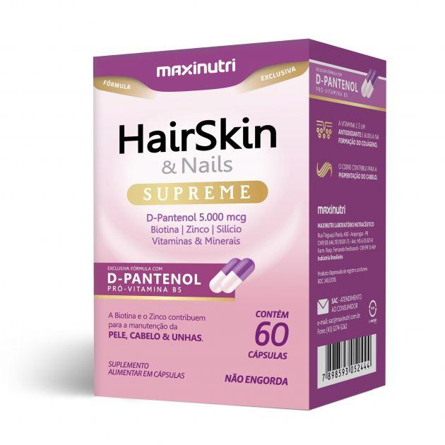HAIR SKIN & NAILS SUPREME - 60 CAPS - MAXINUTRI