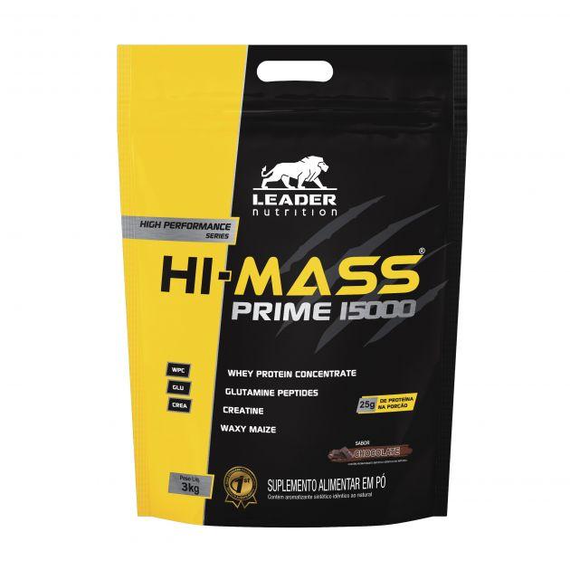 HI-MASS PRIME 15000 - 3kg - LEADER NUTRITION