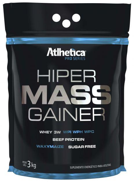 HIPER MASS GAINER - REFIL - 3000g - ATLHETICA NUTRITION