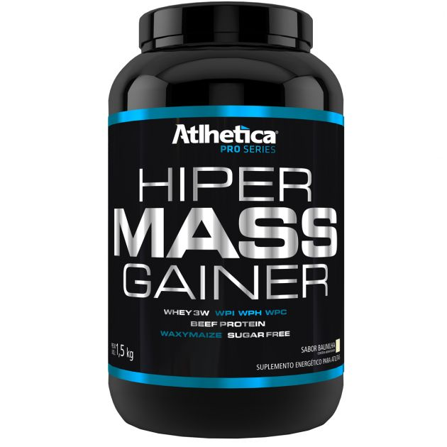 HIPER MASS GAINER - POTE - 1500g - ATLHETICA NUTRITION