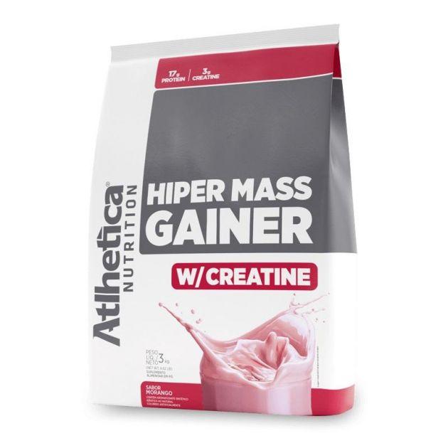 HIPER MASS GAINER W/CREATINE - 3000g - ATLHETICA