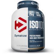 ISO 100 - WHEY PROTEIN ISOLADA 100% HIDROLISADA - 5LB - DYMATIZE