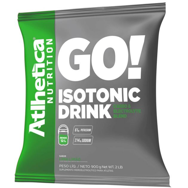 ISOTONIC DRINK - 900g - ATLHETICA NUTRITION