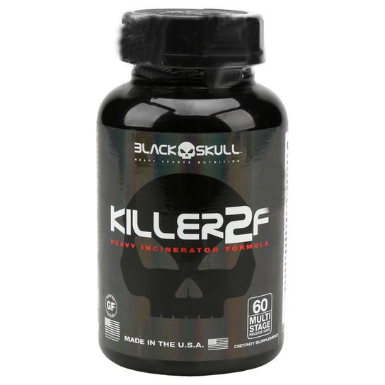 KILLER2F - 60 CAPS - BLACK SKULL