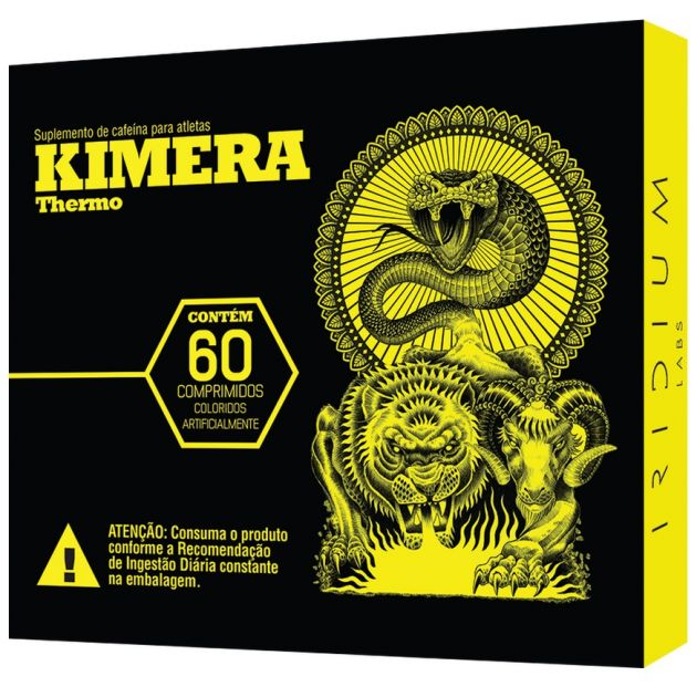 KIMERA THERMO - 60 CAPS - IRIDIUM LABS