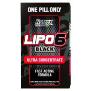 LIPO 6 BLACK ULTRA CONCENTRATE - 60 CAPS - NUTREX RESEARCH