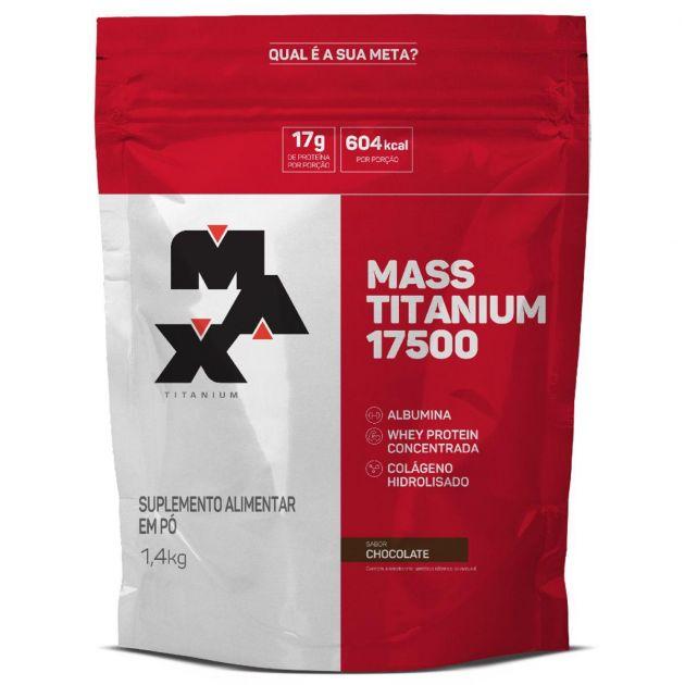 MASS TITANIUM 17500 - 1,4 kg REFIL - MAX TITANIUM