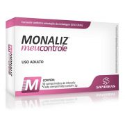 MONALIZ - MEU CONTROLE - 30 CAPS - SANIBRAS