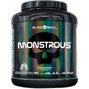 MONSTROUS - 6LBS - 2700g - BLACK SKULL