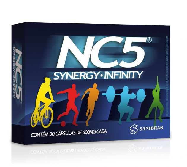 NC5 SYNERGY INFINITY - 30 CAPS - SANIBRAS