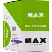 NEW UP GEL POWER - 10 SACHÊS - MAX TITANIUM