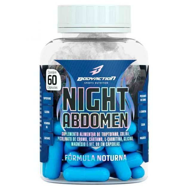 NIGHT ABDOMEN - 60 CAPS - BODY ACTION