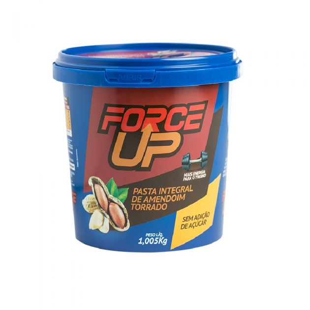 PASTA DE AMENDOIM TRADICIONAL - 1005g - FORCE UP