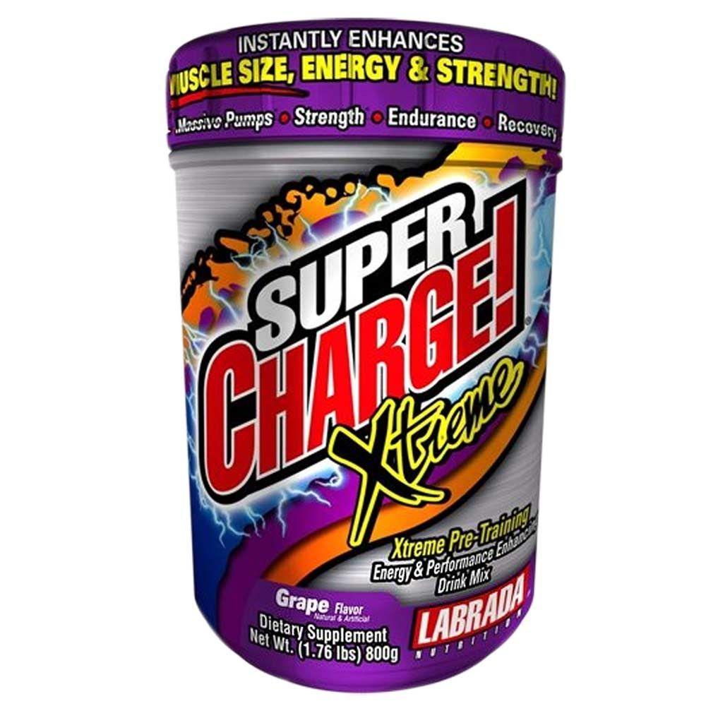 SUPER CHARGE XTREME - 800g - LABRADA na Nutri Fast Shop d19e0bf94302b
