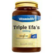 TRIPLE EFA´S - ÔMEGA 3,6,9 - 120 CAPS - VITAMINLIFE