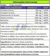 VITAMINA C EM CRISTAIS - 200g - DUX NUTRITION