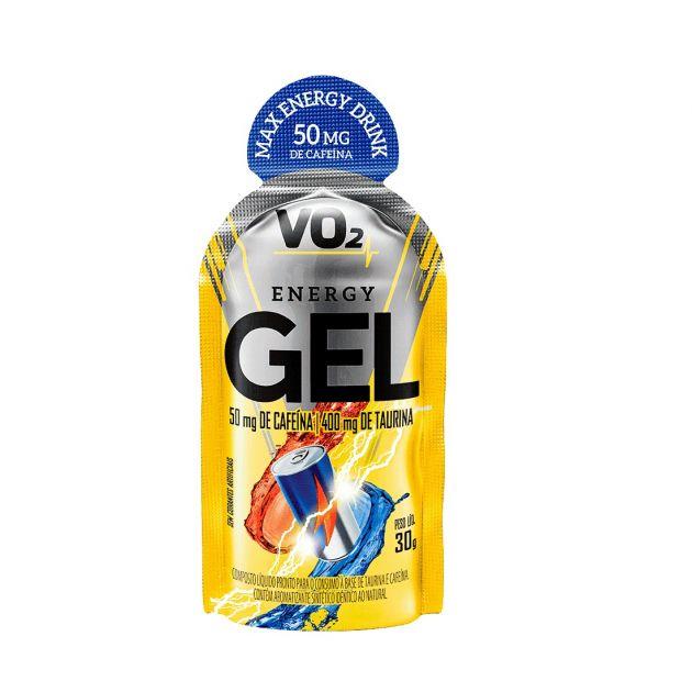 VO2 ENERGY GEL CAFEINA - 10 SACHÊS (30g) - INTEGRALMÉDICA