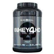 WHEY 4HD - 2LBS - 907G - BLACK SKULL