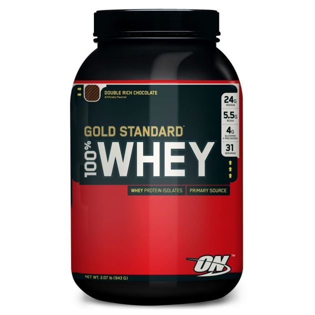 100% WHEY PROTEIN (2LB) - 909g - OPTIMUM NUTRITION